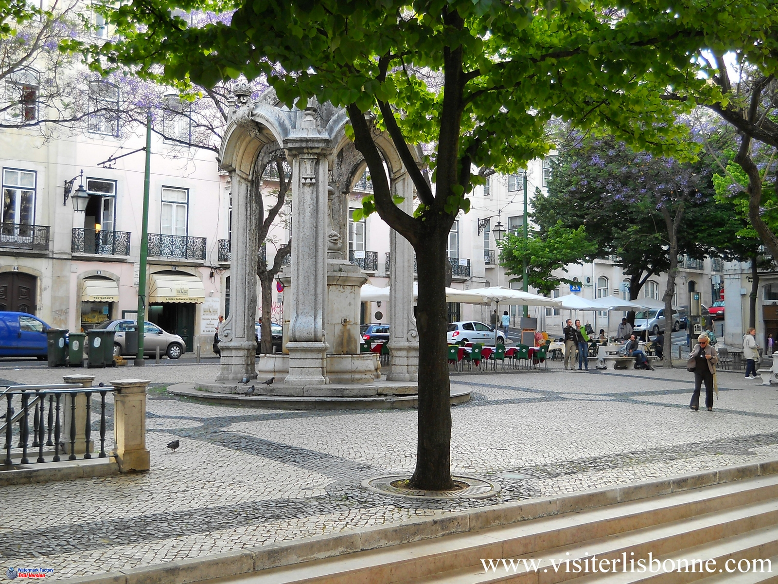 Largo do Carmo - Lisbonne