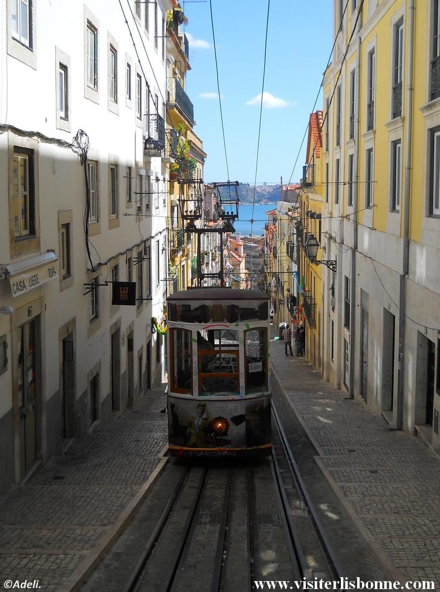 Elevador da Bica - Lisbonne