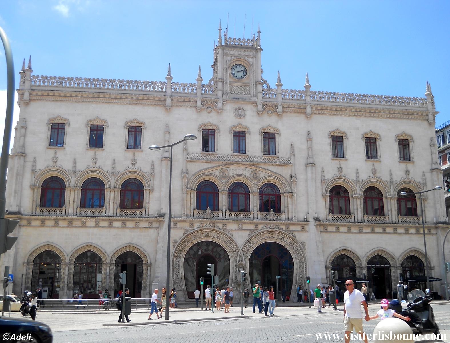 Gare du Rossio - Lisbonne