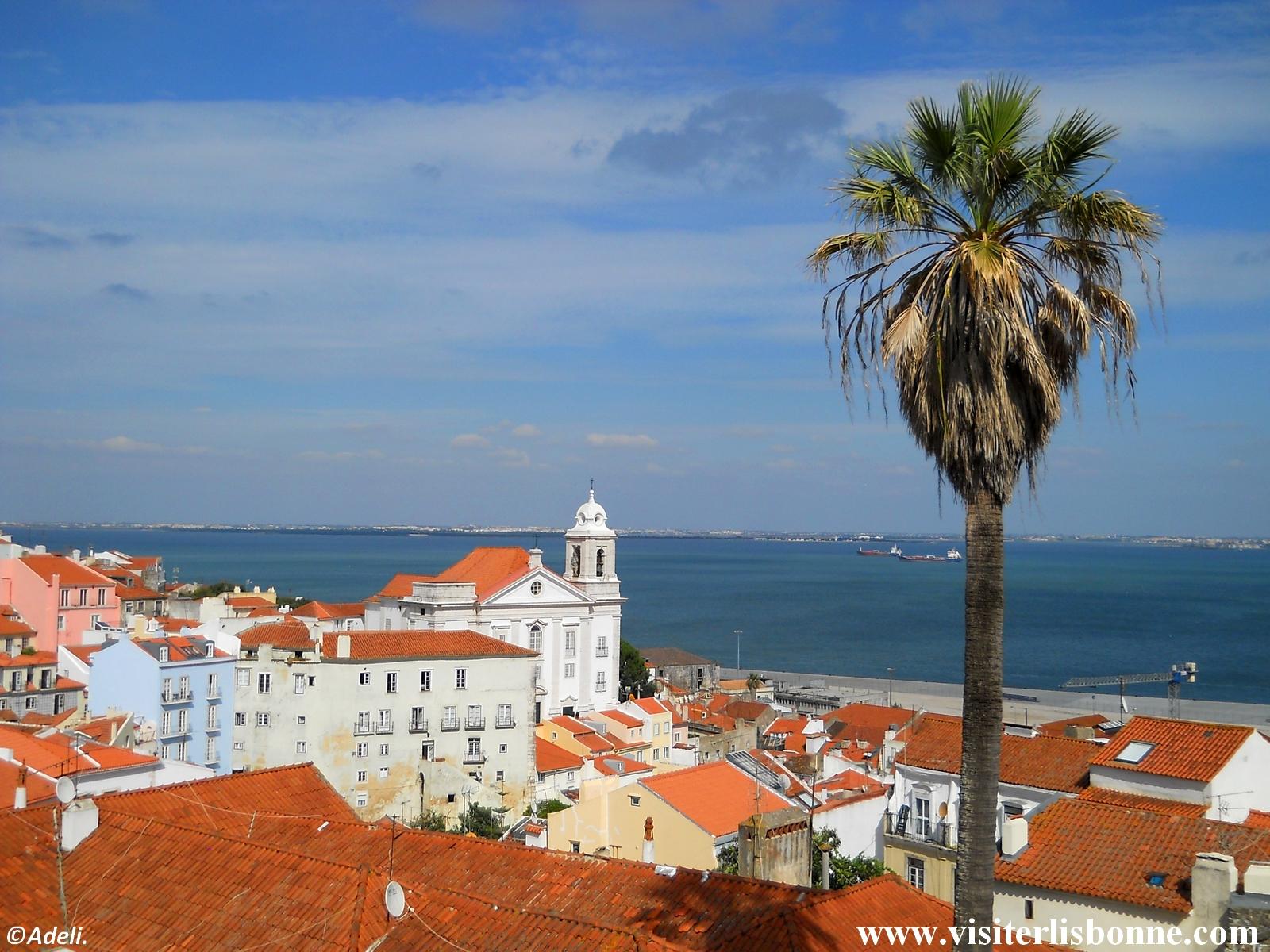 Miradouro das Portas do Sol - Alfama - Lisbonne
