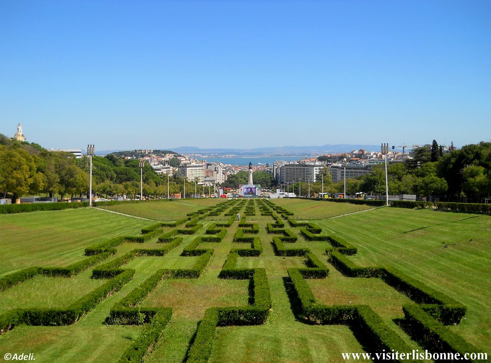 Parc Eduardo VII - Lisbonne