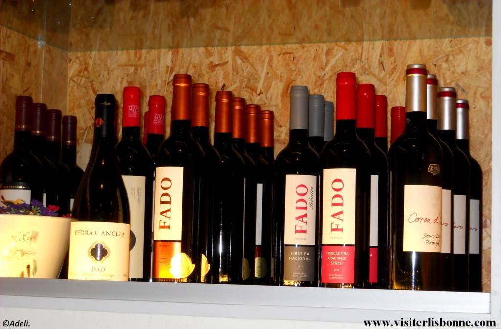 vins lisbonne bars