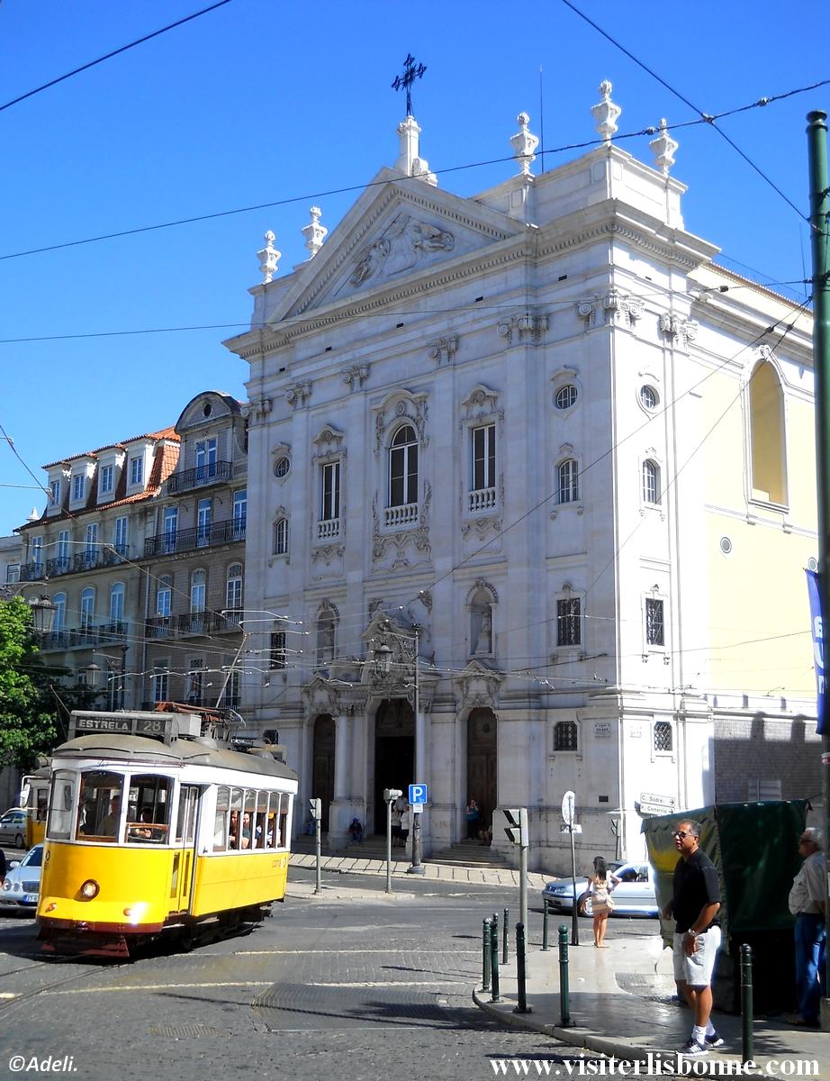 Tramway 28 - Chiado - Lisbonne