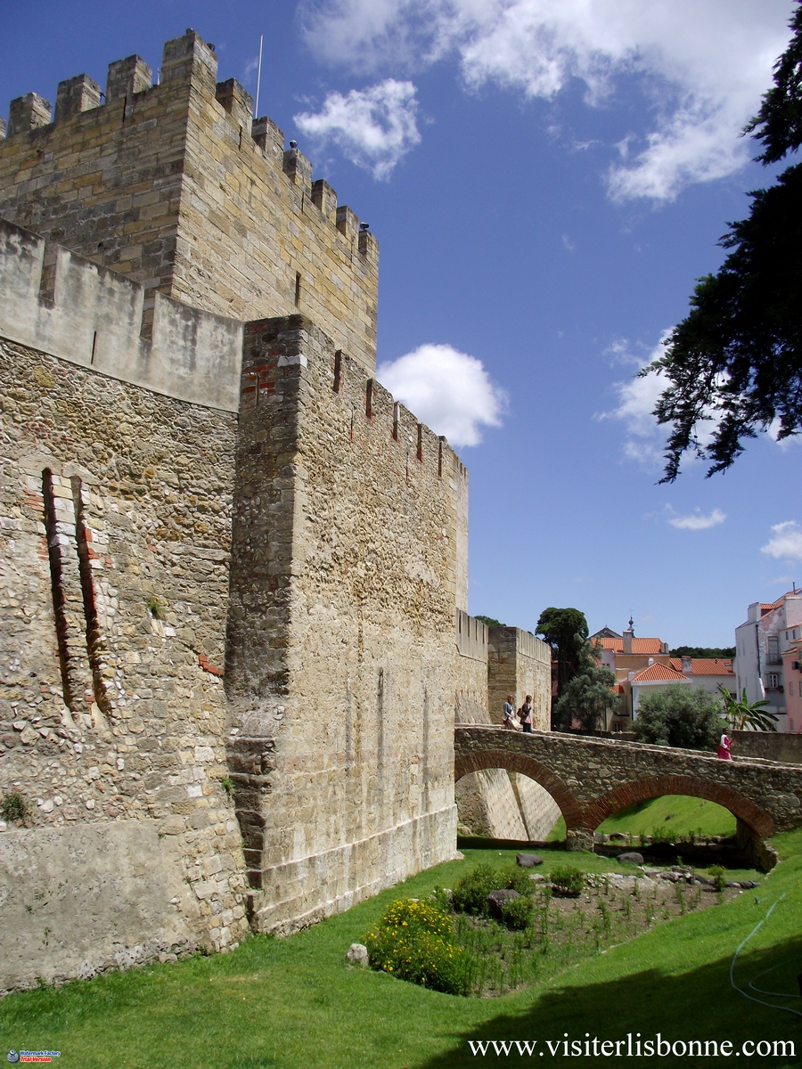 Château Saint George - Castelo de São Jorge - Lisbonne