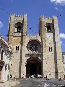 Cathédrale Santa Maria Maior de Lisbonne - Sé Patriarcal de Lisboa - Lisbonne