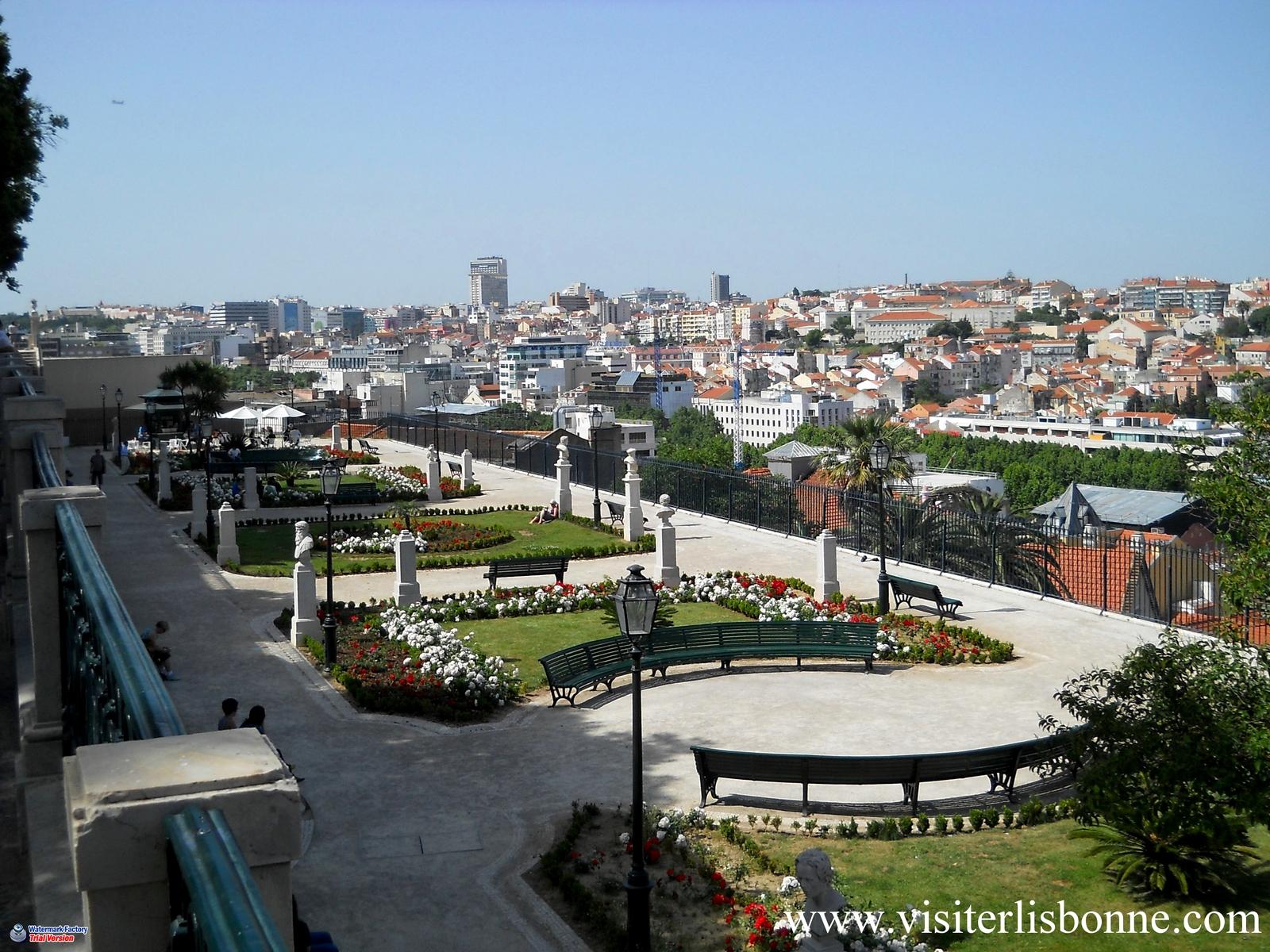 Miradouro Sao Pedro de Alcantara - Lisbonne
