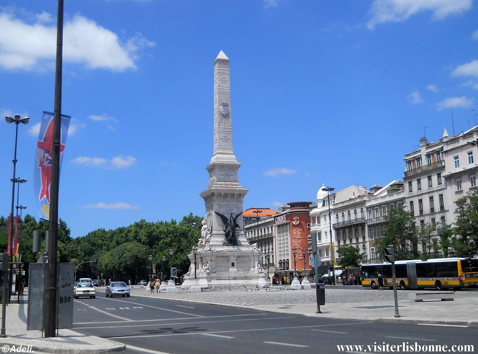 Praça dos Restauradores - Lisbonne