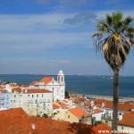 Miradouro Portas do Sol - Lisbonne