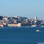 Vue de Lisbonne - Cacilhas